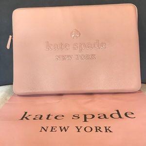 Kate Spade Sienne Logo Universal Laptop Sleeve